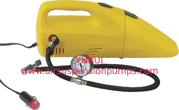 2 In 1 Plastic Portable Handheld Car Vacuum Cleaner With Carpet Tool Also Can Inflation