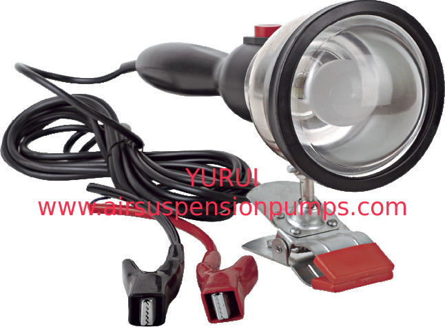 Portable DC12V 35W Working Light With Halogen Bulb / Two Battery Clips
