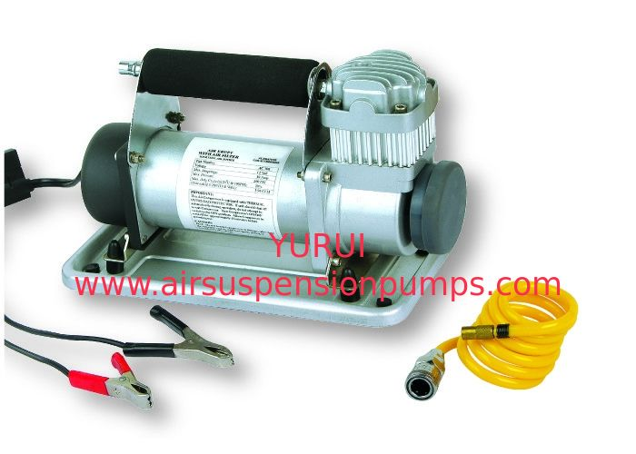 Metal 12v DC Vehicle Air Compressors With Battery Clip For Car Tire Heavy Duty Inflation