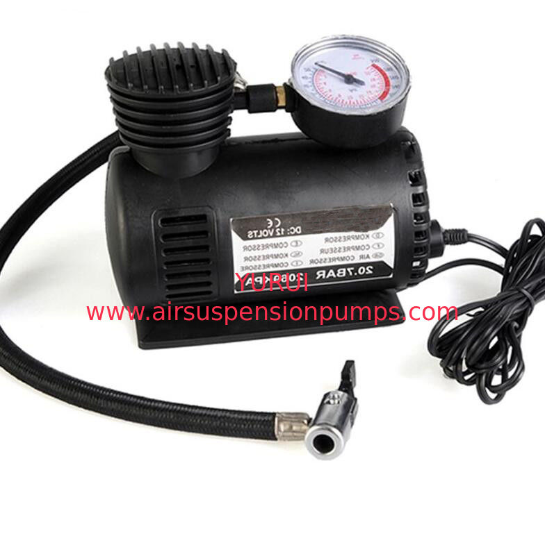 Truck Portable Air Compressor For Tires , Air Ride Electric Tyre Inflator