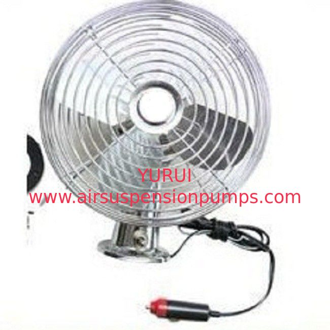 Durable Car Cooling Fan Silver Handheld Cooling Fan With On - Off Switch