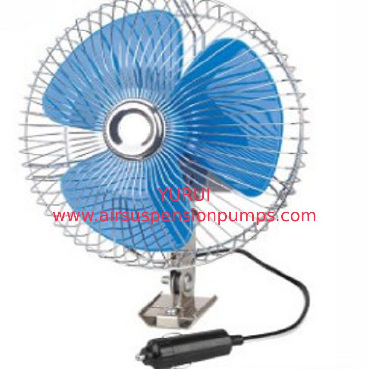 "Screw Mounting Vehicle Cooling Fans , 8"" Oscillating Auto Cool Fan In Blue"